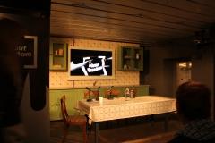 de keuken in de Bertha