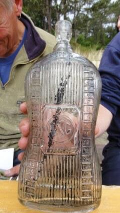 Antieke azijn fles